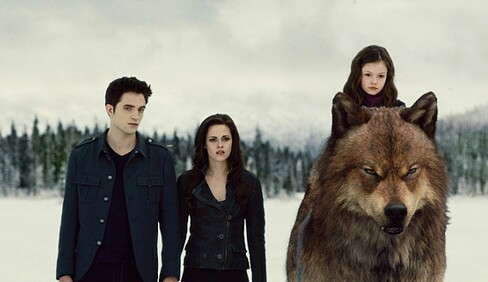 Jacob and Bella wallpaper entitled Breaking Dawn 2