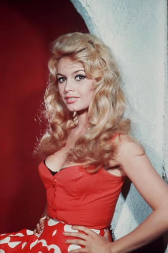 Physical Beauty wallpaper probably containing a coquetel dress, a chemise, and a bustier, bustiê called Brigitte Bardot