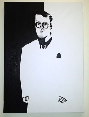 Bubbles - Scarface Painting Print on Canvas