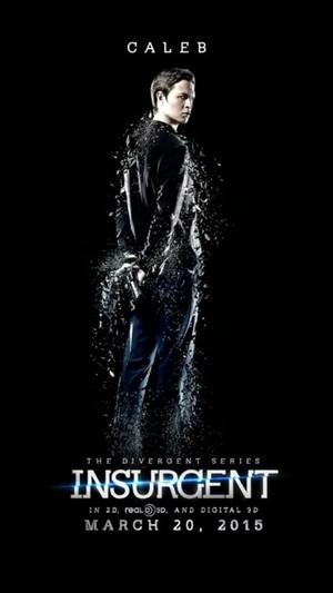 Caleb Prior Insurgent poster