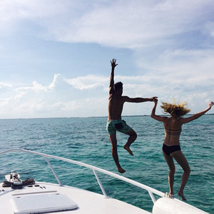 Candice Accola and Joe King 'honeymoon in paradise' on Belize private island