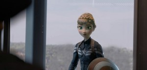Captain America: The Frozen - Uma Aventura Congelante Soldier