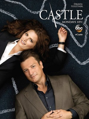 istana, castle and Beckett-Poster season 7