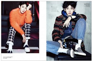 Chanyeol for The Celebrity