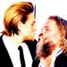Charlie Hunnam and Mark Boone Junior - charlie-hunnam icon