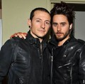 Chester and Jared - linkin-park photo