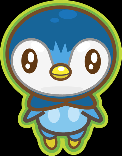 Pokémon achtergrond called Chibi Piplup