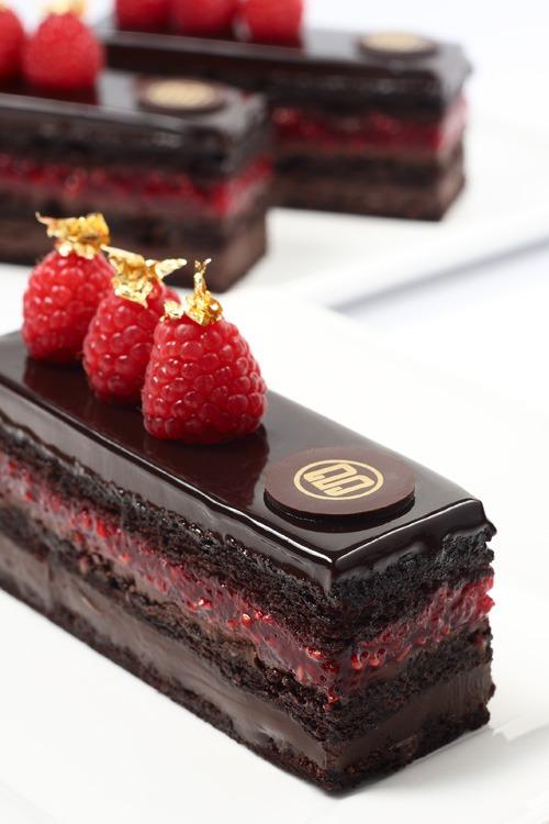 Chocolate Raspberry Dessert Chocolate Photo 37763497