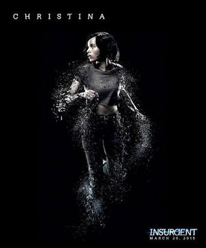 Christina Insurgent poster