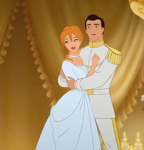 Disney Hintergrund titled Aschenputtel Wedding