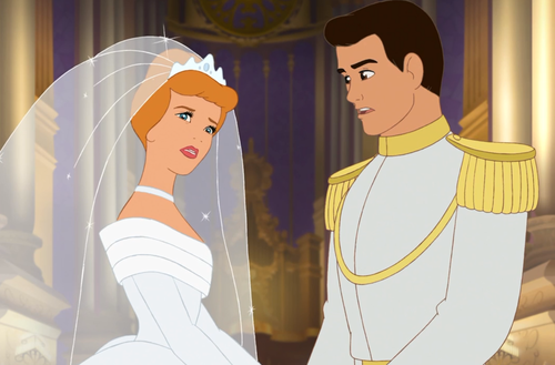Disney wolpeyper possibly containing anime entitled Sinderella Wedding