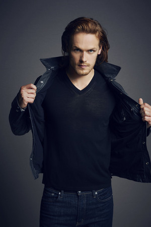 Comic Con Portraits of Sam Heughan