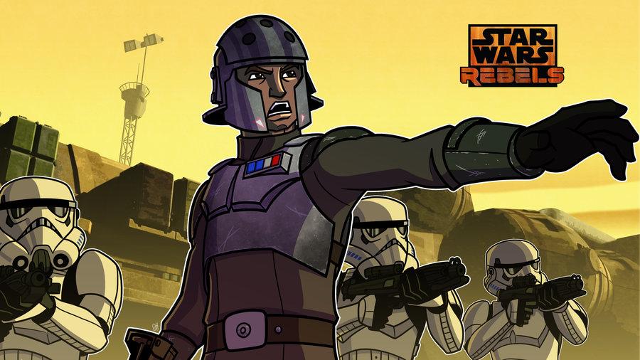 Star Wars Rebels Images Commish Agent Kallus Rebels Hd Wallpaper And