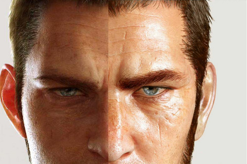 Final Fantasy XV achtergrond probably with a portrait called Cor/Mystery Guy comparison
