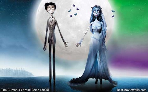 Corpse Bride wallpaper possibly with a wind turbine and a fountain titled Corpse Bride ~ True love