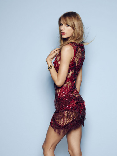 Taylor Swift wallpaper probably with tights, a bustier, and a cocktail dress entitled Cosmopolitan UK Photoshoot 2014