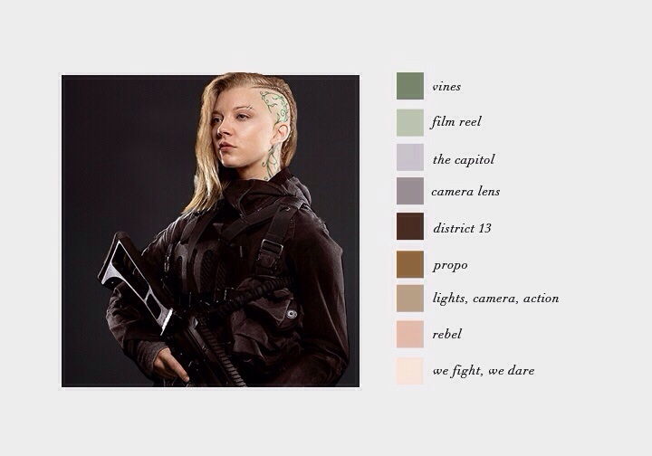The Hunger Games Images Cressida Color Scheme Hd Wallpaper And