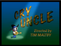 Cry Uncle Title Card - tom-and-jerry photo