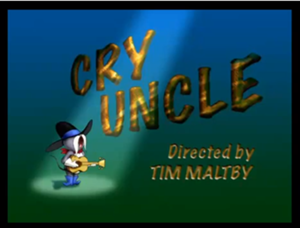 Cry Uncle titolo Card