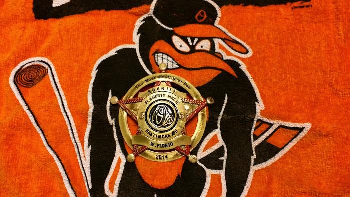 Custom Super Fan Badge - Baltimore