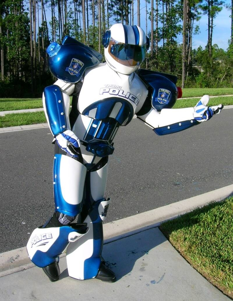 Robots images Cyber the Police Robot HD wallpaper and background photos