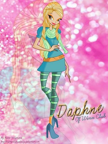 Winx Club fond d'écran called DAPHENE OF WINX CLUB