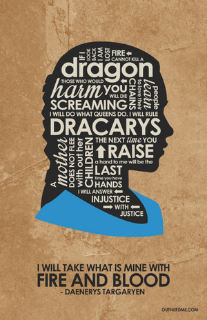 Daenerys Quote Poster