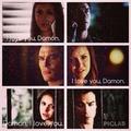 Damon and Elena  - damon-and-stefan-salvatore photo