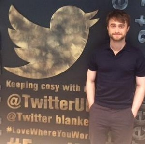 Daniel Radcliffe Appeared On Lionsgate UK (Fb.com/DanieljacobRadcliffeFanClub)