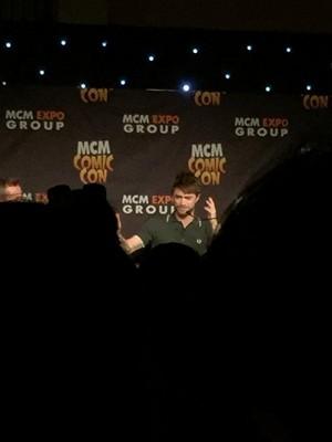Daniel Radcliffe At MCM Expo Comic Con(London) (FB.com/DanielJacobRadcliffeFanClub)