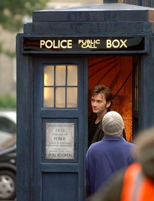 David Tennant - Behind The Scenes