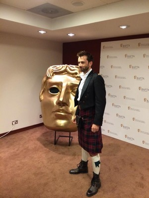 David at BAFTA Scotland ♥
