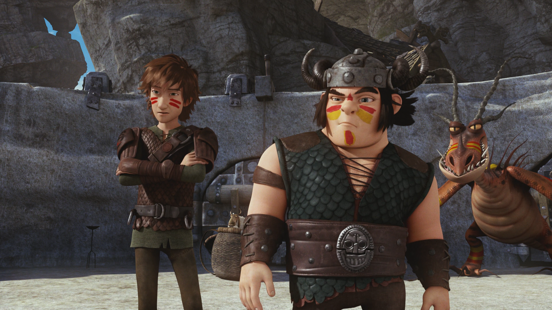 Dawn of the Dragon Racers - Hiccup and Snotlout