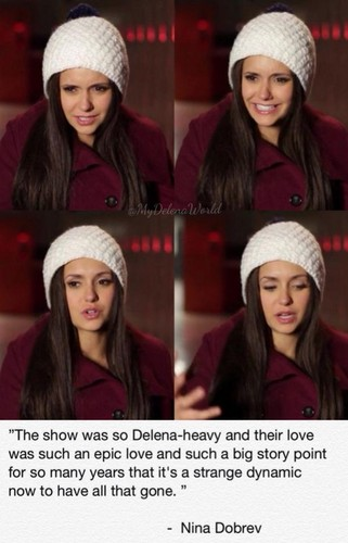 Damon&Elena and Ian&Nina achtergrond called Delena love OTP