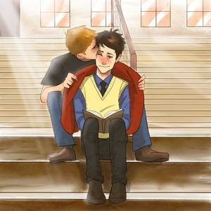Destiel High School AU