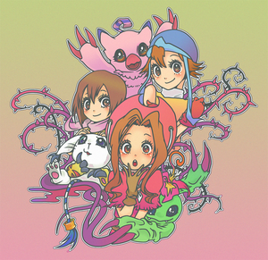 Digimon Adventure Ladies