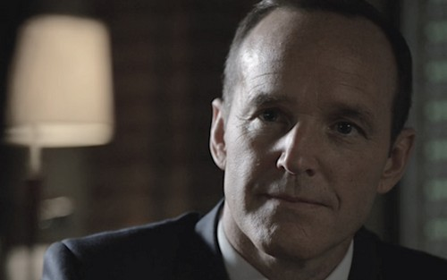 Agent Phil Coulson wallpaper containing a business suit, a suit, and a three piece suit called Director Phil Coulson
