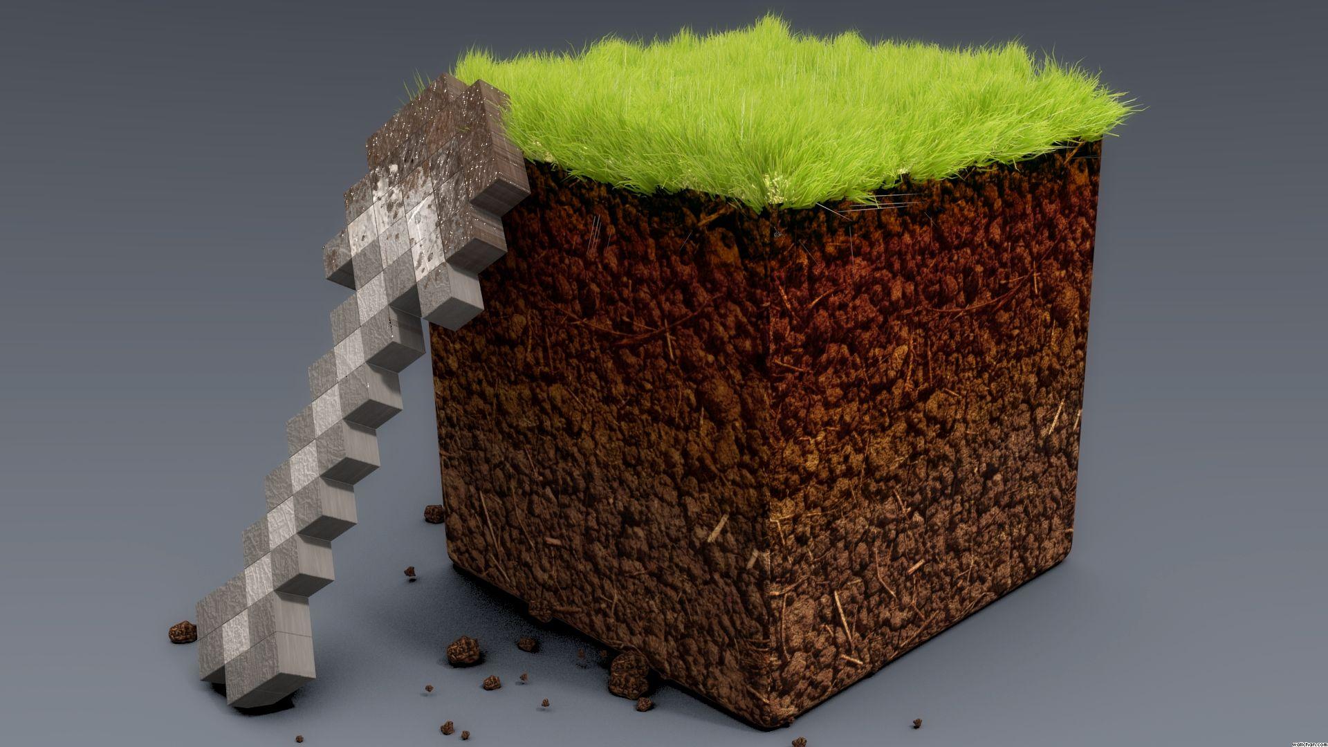 Dirt Block Wallpaper - Minecraft Wallpaper (37763092) - Fanpop