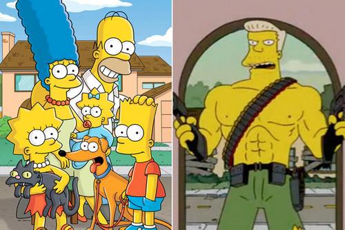 Les Simpsons fond d'écran containing animé called Dont ask xD