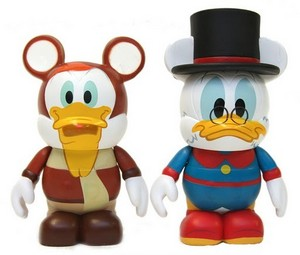DuckTales Vinylmation, Scrooge and Launchpad
