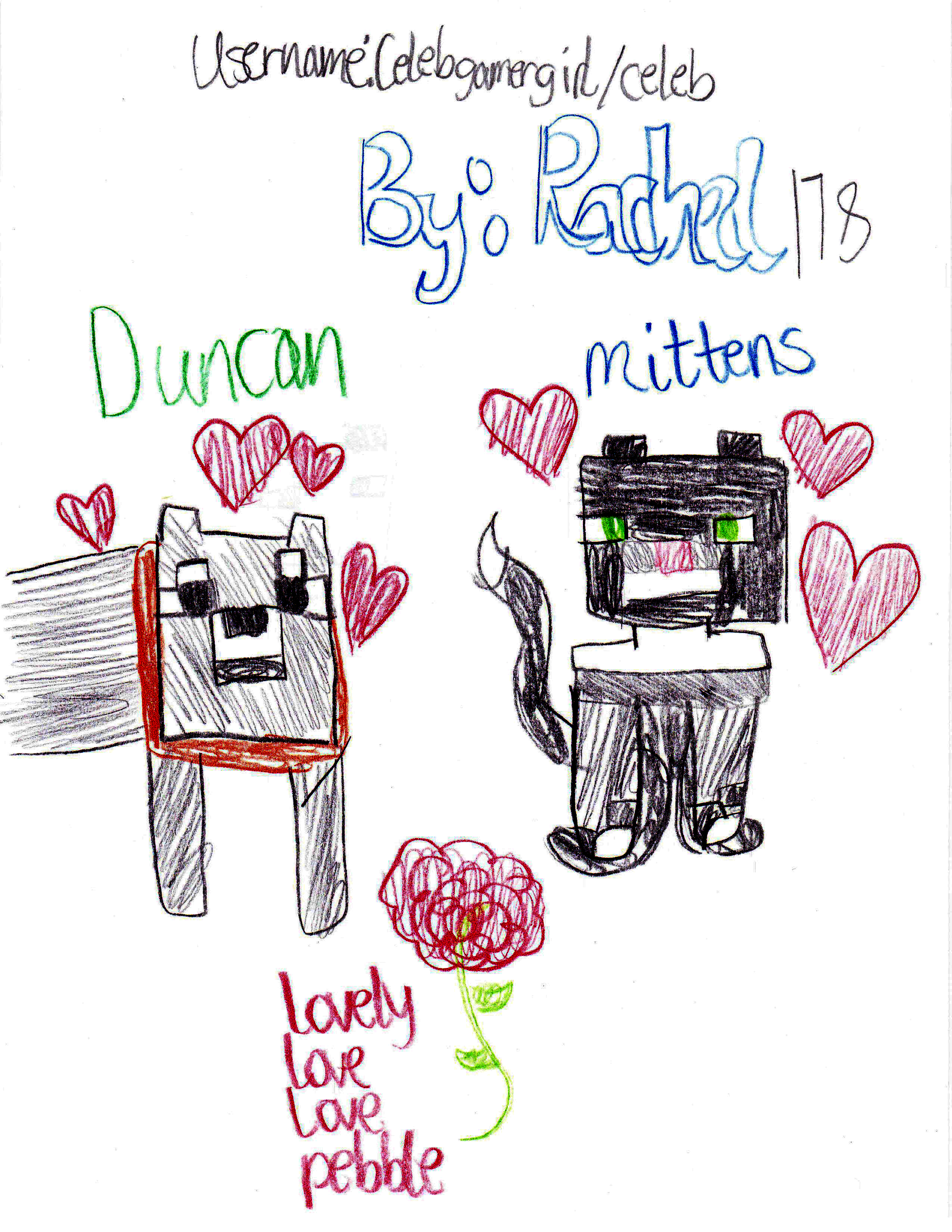 Duncan and Mittens