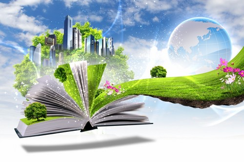 Keep Earth Green wallpaper titled Eco Concept
