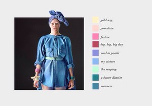 Effie Trinket | Color Scheme
