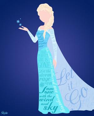 Elsa Typography