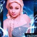 Elsa cosplay - classic-disney photo