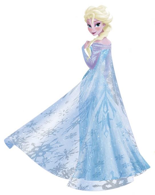 Elsa decal