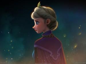 Elsa fond d'écran