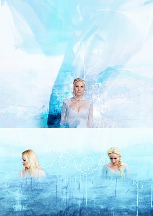 Emma, Elsa and Snow Queen