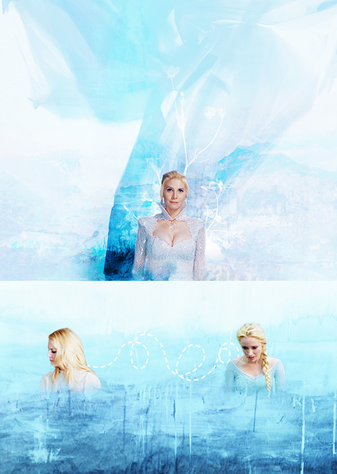 Emma And Snow Queen Elsa And Snow Queen