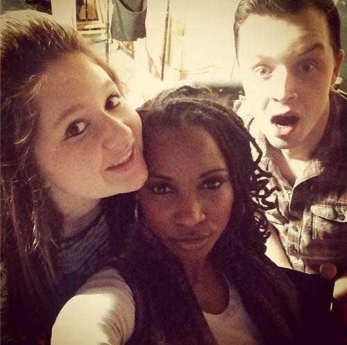 Emma, Shanola and Noel